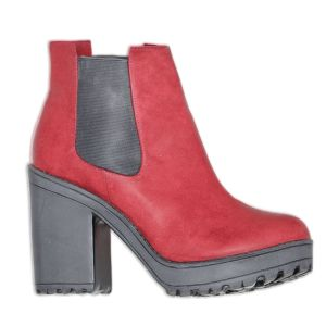 Vintage Boot Red Rubber