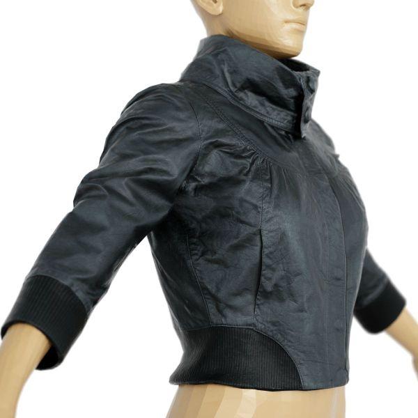 Vintage Jacket Black Shiny