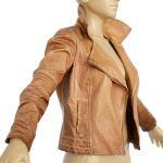 Vintage Jacket Dark Brown Leather