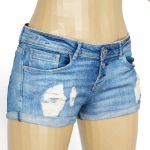 Vintage Shorts Jeans Ripped