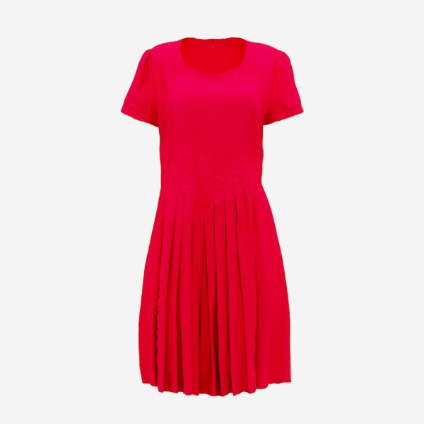 Red Fold Dress