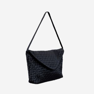 Black Maze Handbag Purse