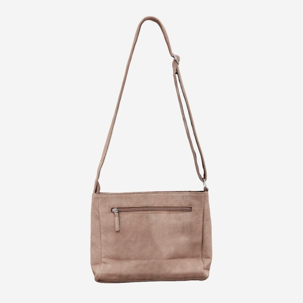Pink Leather Shoulderbag
