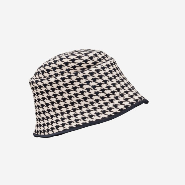 Houndstooth Hat