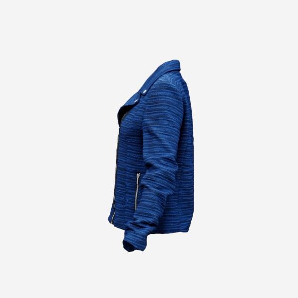 Blue Fabric Jacket