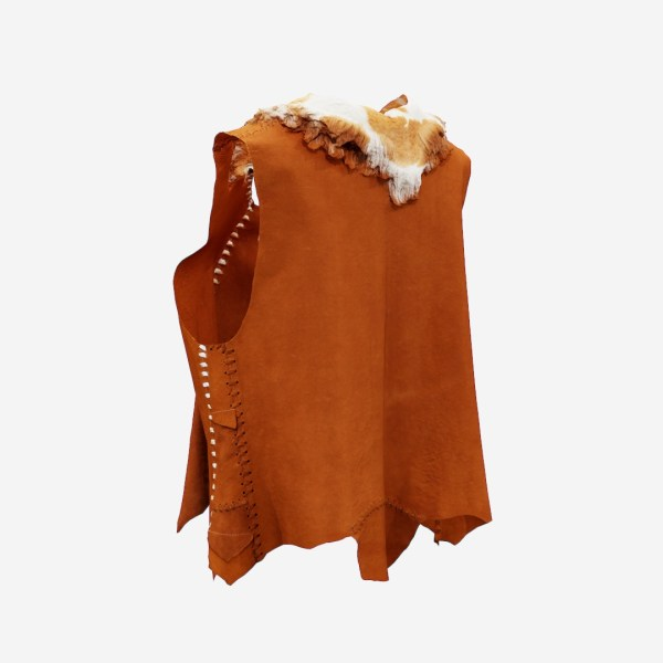 Cow Leather Native American Jacket