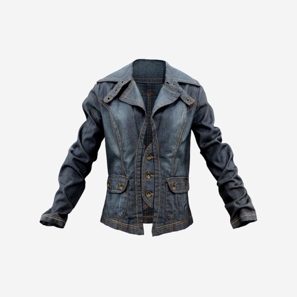 Jeans Jacket Stylish Decorated