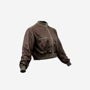 Mini Brown Pocket Jacket