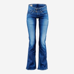 Dark Blue Jeans Long Trousers