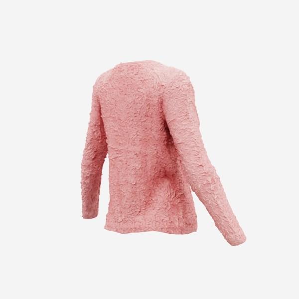 Pink Fur Top