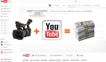 Các hình thức kiếm tiền từ Youtube Partner