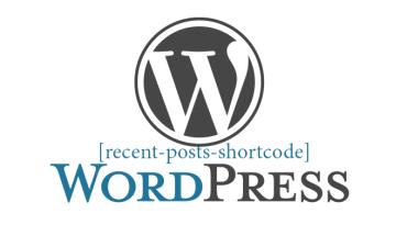 Cách tạo shortcode hiển thị danh sách posts gần đây