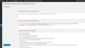 Script & style – Cài đặt & cấu hình PolyXGO Products