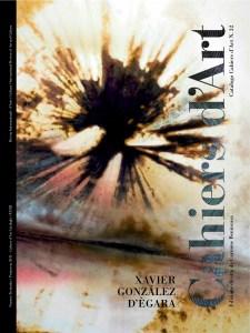 Cahiers d'Art (2011) // Xavier González d'Ègara