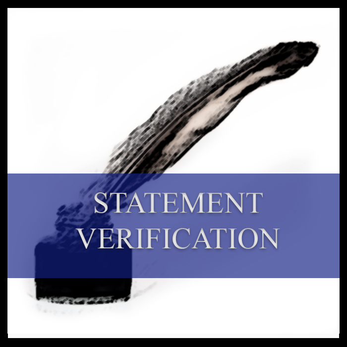 Statement verification polygraph examinations in Johannesburg, Pretoria, Centurion, Gauteng, Midrand, South Africa and Africa