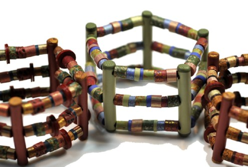 Lindly Haunani, Corral Bracelets, 1995