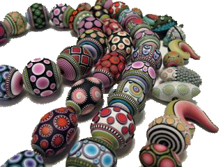Donna Kato, Assorted Caned Beads