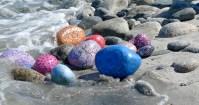 Rachel Gourley, Rocks on Beach, 2010-2011
