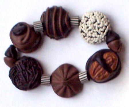 Linda Pedersen, Chocolate Bracelet, c. 1996