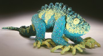 Amy Zinman, The Guacamole Act, 1997, 4.5″h x 15″w x 6″d