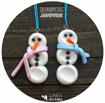 thumbprint-snowmen