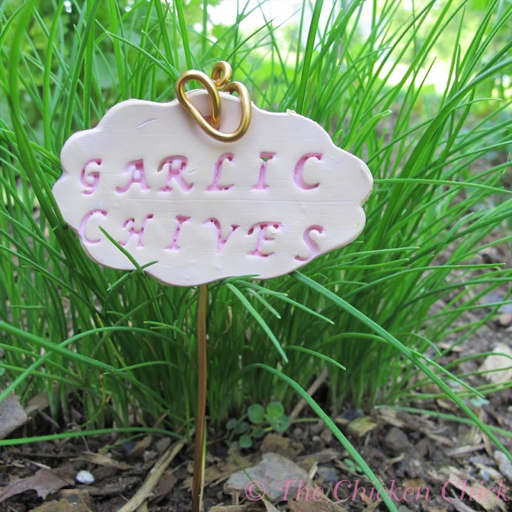 7 Garden Markers Made From Polymer Clay – Polymer Clay