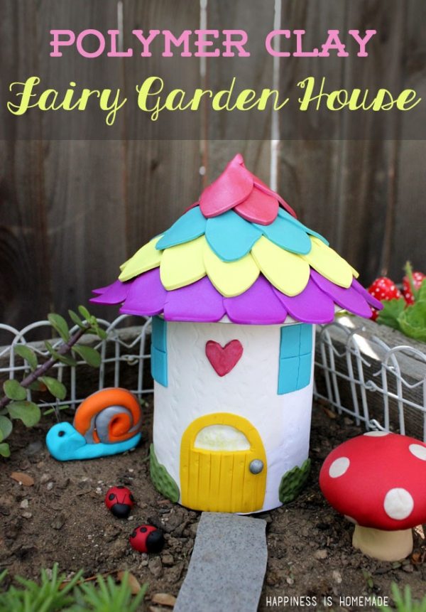 DIY-Polymer-Clay-Fiary-Garden-House