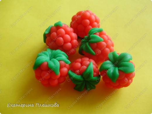 clay-raspberries
