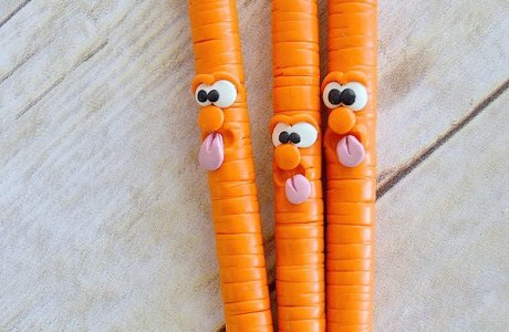 Creative Clay Carrots… as Pens