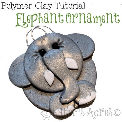 Original Polymer Clay Ornaments