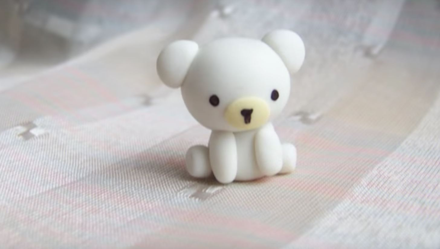 Making Polymer Clay Bears