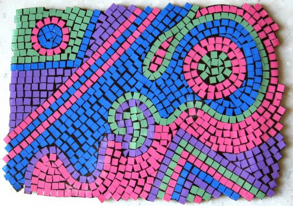Polymer Clay Mini Mosaics