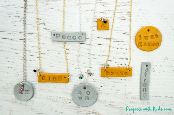 Stamped Clay Charms