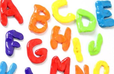 DIY Polymer Clay Alphabet Magnets
