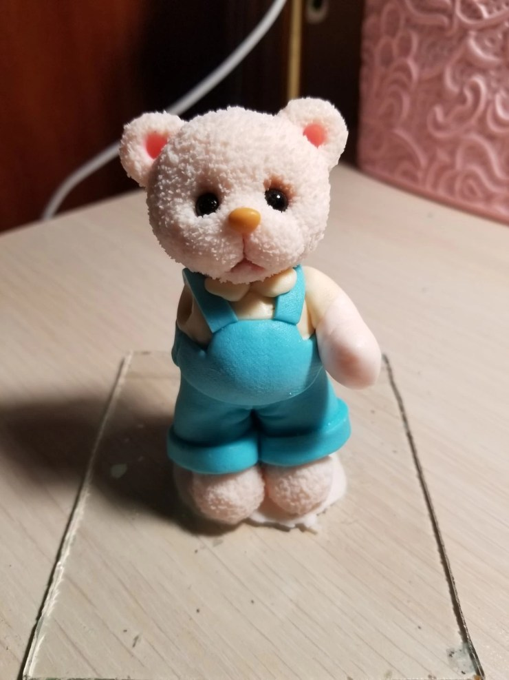 10 Teddy Bear made of polymer clay. Photo Tutorial