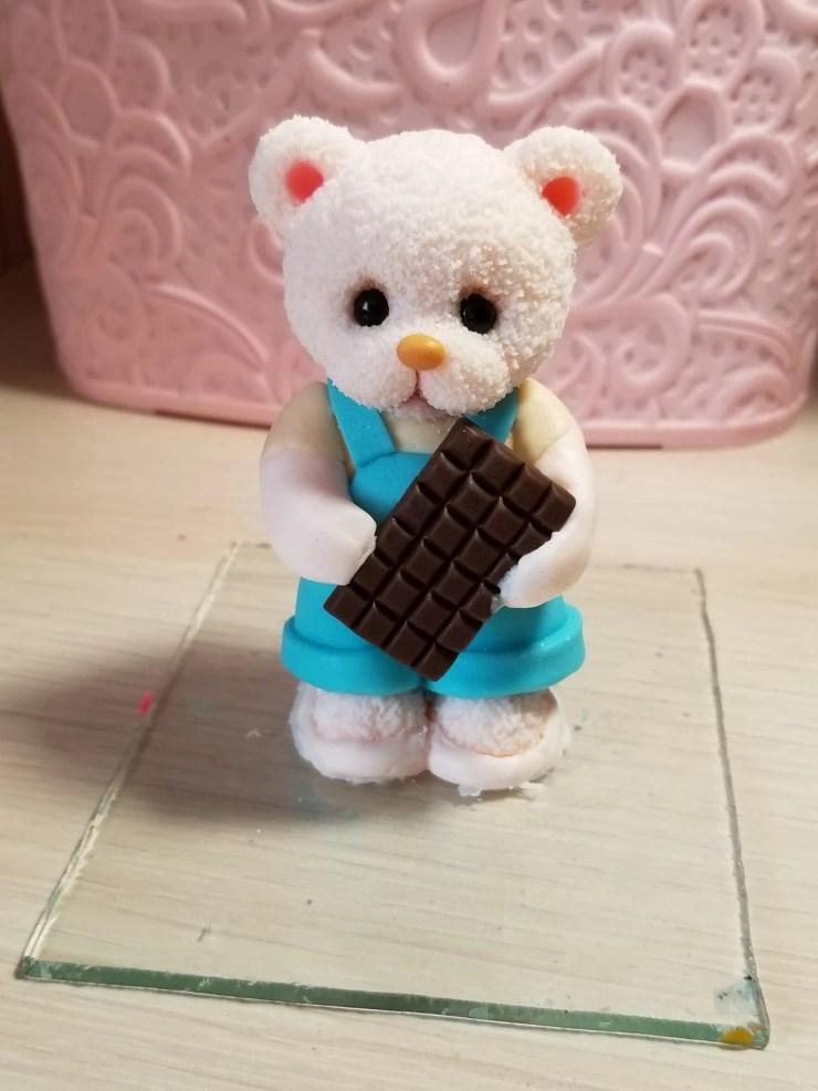 12 Teddy Bear made of polymer clay. Photo Tutorial