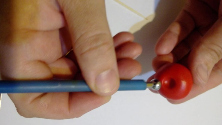 2 Polymer clay tomato. Photo tutorial on polymer clay food