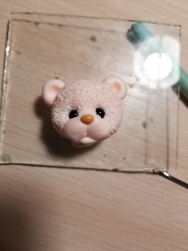 8 Teddy Bear made of polymer clay. Photo Tutorial