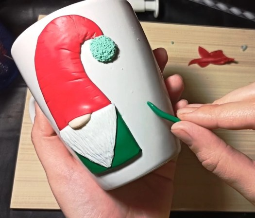 7 Polymer clay modeling lesson: Christmas decor