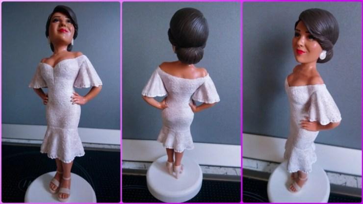 Polymer clay doll 2