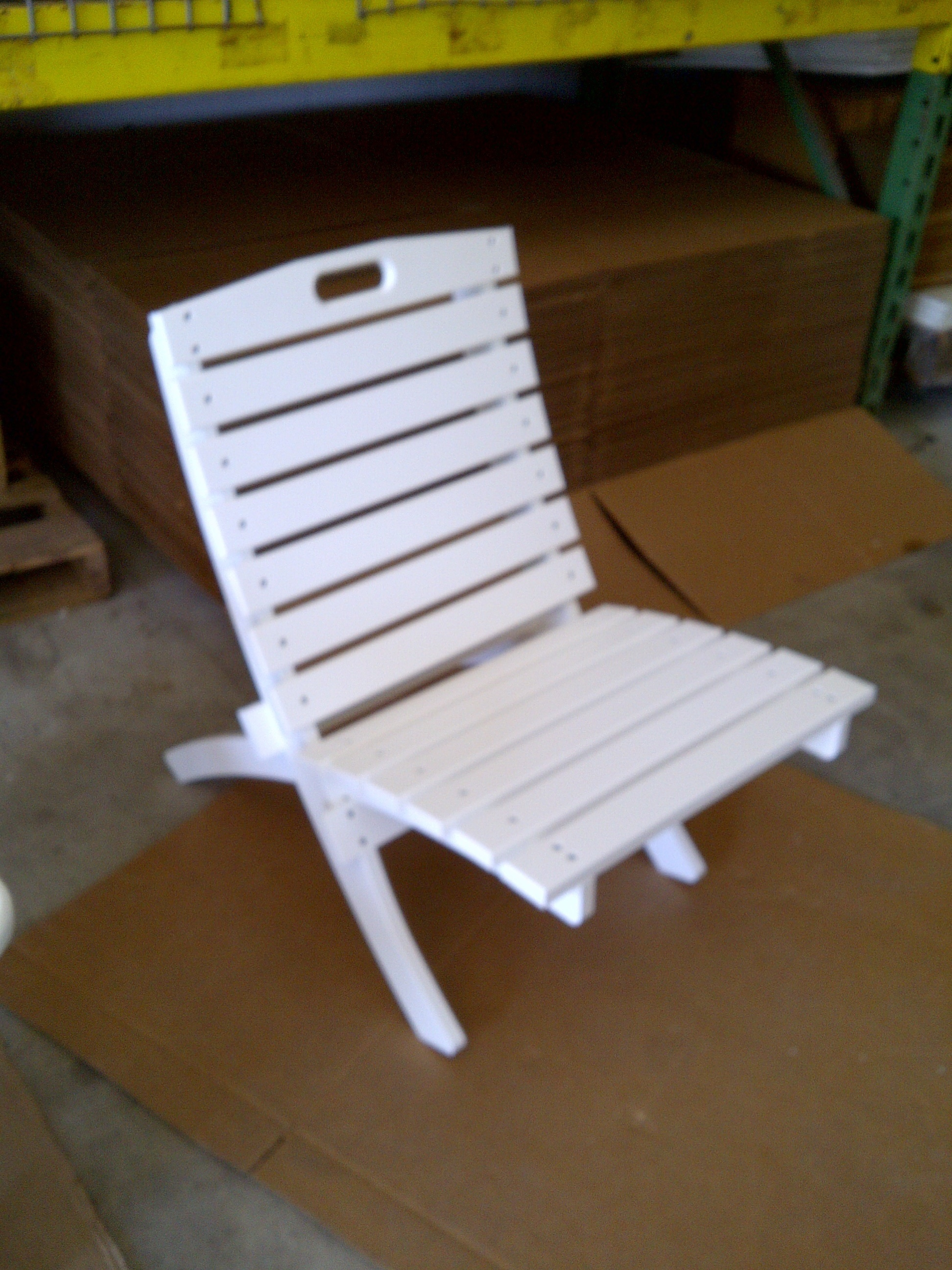 Plastic Folding Lawn Chairs Polymer Fabrication In Ormond Beach Florida