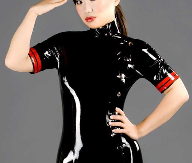 Latex Military Dress Dr 058 Front_7774