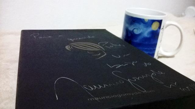 Box autografado até na capa (dentro todos os livros estão assinados e dedicados <3)