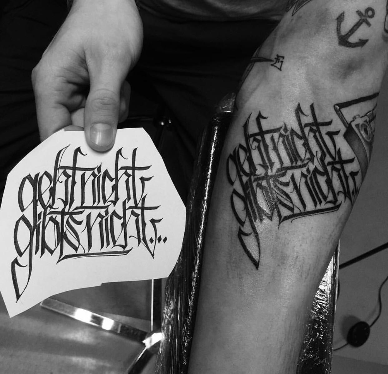 TRACK – DER TÄTOWIERER UNTER DEN 38ern - Polytox - Kontra K Tattoos