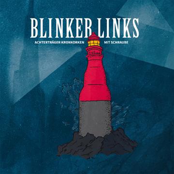 Blinker Links – Achterträger Kronkorgen mit Schraube