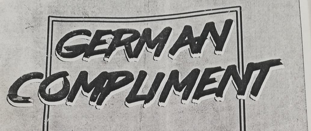 German Compliment Fanzine