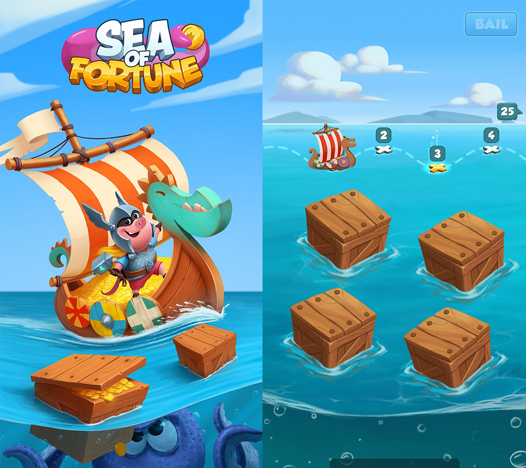Sự kiện Sea Of Fortune game Coin Master?