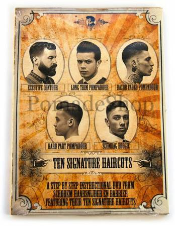 DVD TEN SIGNATURE HAIRCUTS By Schorem PomadeShop