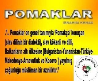9) Son olarak ta Pomakların dini kutlamaları, ve bunlara bağlı diğer geleneklerin ne kadar Türklerle aynı olduğundan dem vurulup bundan dolayıda Pomakların Türklüğünün ispatı olarak kullanma eğilimi oldukça yüksek. Aslında […]
