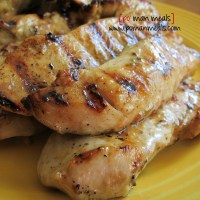 grilled rosemary ranch chicken strips